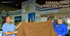 KUDAKA, YÖREX Fuarı'nda bölgeyi tanıttı