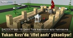 Yukarı Kırzı Köyü'nde 'iffet anıtı' yükseliyor!