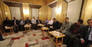Başkan Memiş, emniyet mensuplarına belediye çalışmalarını anlattı