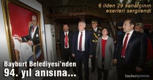 Bayburt Belediyesi'nden Cumhuriyet Bayramı'na özel sergi