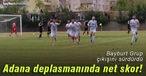 Bayburt Grup, Kozan Belediyespor'u iki golle geçti!