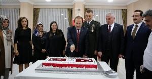 Bayburt'ta Cumhuriyet Bayramı resepsiyonu