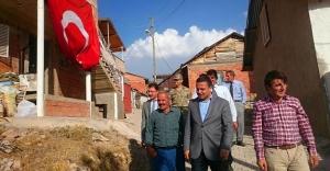 Kaymakam Haskırış'ın köy ziyaretleri