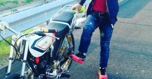 Motosiklet hırsızları Aydıntepe'de yakalandı!