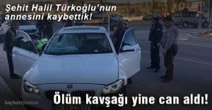 Şehit Halil Türkoğlu#039;nun annesini...