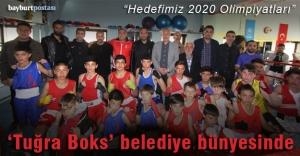 'Tuğra Boks' Bayburt Belediyesi bünyesinde