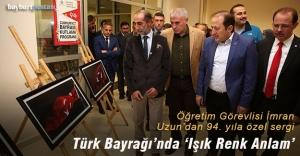Türk Bayrağı'nda 'Işık Renk Anlam'