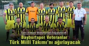 Veteranlar Türk Milli Takımı 22 Ekim'de Bayburt'ta