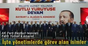 AK Parti, Fatih Yumak başkanlığında şekillendi