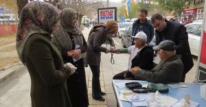 Bayburt'ta 'Dünya Diyabet Günü' etkinliği
