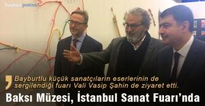 Bayburtlu küçük sanatçıların eserleri İstanbul Sanat Fuarı'nda