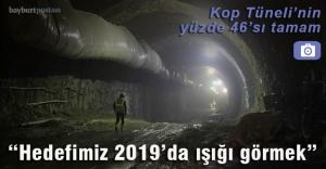 Kop Tüneli#039;nin yüzde 46#039;sı...