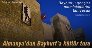Almanya'dan Bayburt'a kültür turu