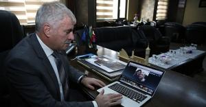 """Başkan Memiş, AA'nın """"Yılın Fotoğrafları"""" oylamasına katıldı"""