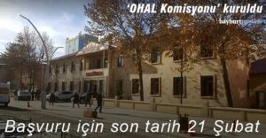Bayburt Valiliği'nden 'OHAL Komisyonu' açıklaması