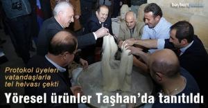 Taşhan'da 'Yöresel Ürünler Tanıtım Etkinliği'