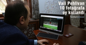 """Vali Pehlivan, AA'nın """"Yılın Fotoğrafları"""" oylamasına katıldı"""