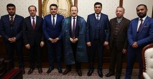 Afganistan heyetinden Vali Pehlivan'a ziyaret