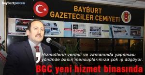 Bayburt Gazeteciler Cemiyeti yeni mekânında
