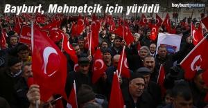 Bayburt'tan Mehmetçiğe destek ve dua