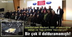 İstanbulda'ki Bayburt, 100. Yıl etkinliğine iddialı ve 'hep birlikte' hazırlanıyor!