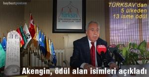 TÜRKSAV 22. Türk Dünyasına Hizmet Ödülleri açıklandı