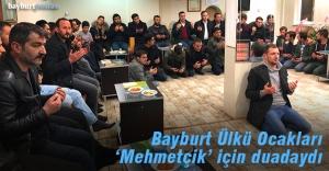 Ülkücüler, 'Mehmetçik' için duadaydı