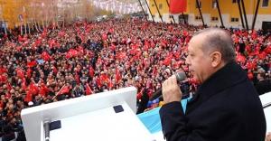 Cumhurbaşkanı Erdoğan'dan kutlama mesajı