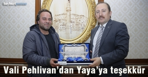 Danalarını Mehmetçik için bağışlayan besiciye teşekkür