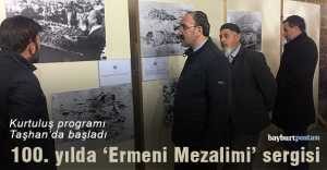 Taşhan'da 'Ermeni Mezalimi' sergisi