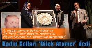 AK Parti Kadın Kolları 'Dilek Atamer' dedi