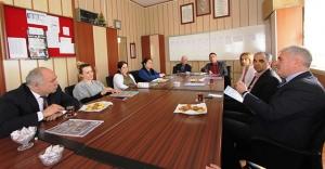 Başkan Memiş'ten okul ziyaretleri