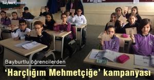 Bayburtlu öğrenciler Mehmetçiğe harçlıklarını gönderdi