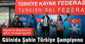 Gülnida Şahin Türkiye Şampiyonu