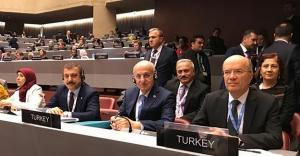 Kavcıoğlu, Cenevre'de göç sorunu ve çözüm önerilerini anlattı