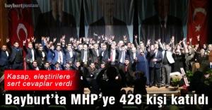 MHP#039;ye 428 yeni üye katıldı