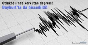 Otlukbeli'nde korkutan deprem!