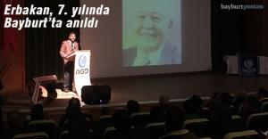 Prof. Erbakan, vefatının 7. yılında anıldı