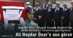 Ali Haydar Öner son yolculuğuna uğurlandı