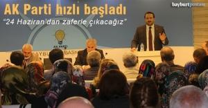AK Parti, seçim çalışmalarına...