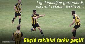 Bayburt Gup, lig ikinciliğini garantiledi