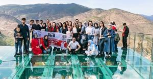 Bayburtlu Genç Fotoğrafçılar Gümüşhane'yi gezdiler