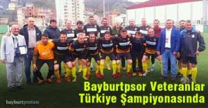 Bayburtspor Veteranlar Türkiye Şampiyonasında