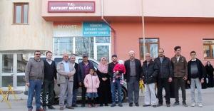 İşitme engelli vatandaşlar kutsal topraklara uğurlandı