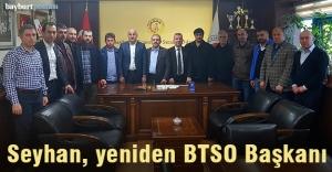 Süleyman Seyhan yeniden BTSO Başkanı