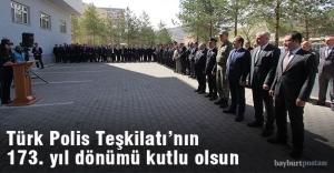 Türk Polis Teşkilatının 173. kuruluş yıl dönümü