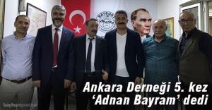 Adnan Bayram 5. kez başkan