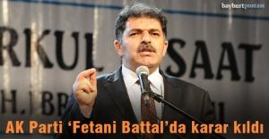 AK Parti Bayburt Milletvekili adayı...