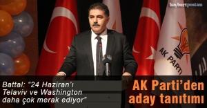 AK Parti'den aday tanıtım toplantısı