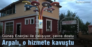 Arpalı Belediyesi'ndan 'Akıllı Oturma Bankı' hizmeti